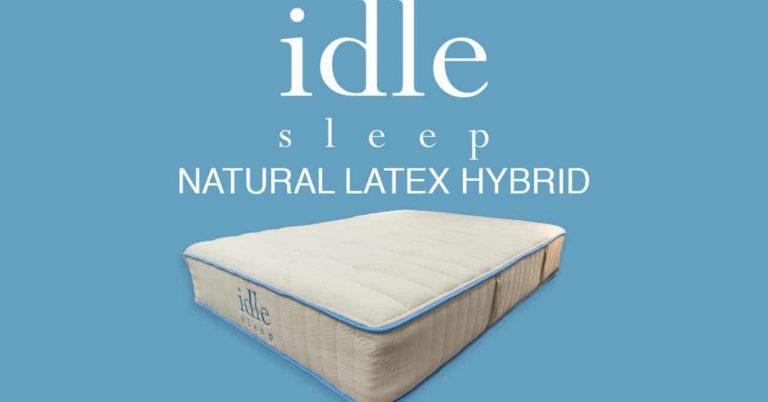 Idle Sleep Natural Latex Hybrid Mattress Review